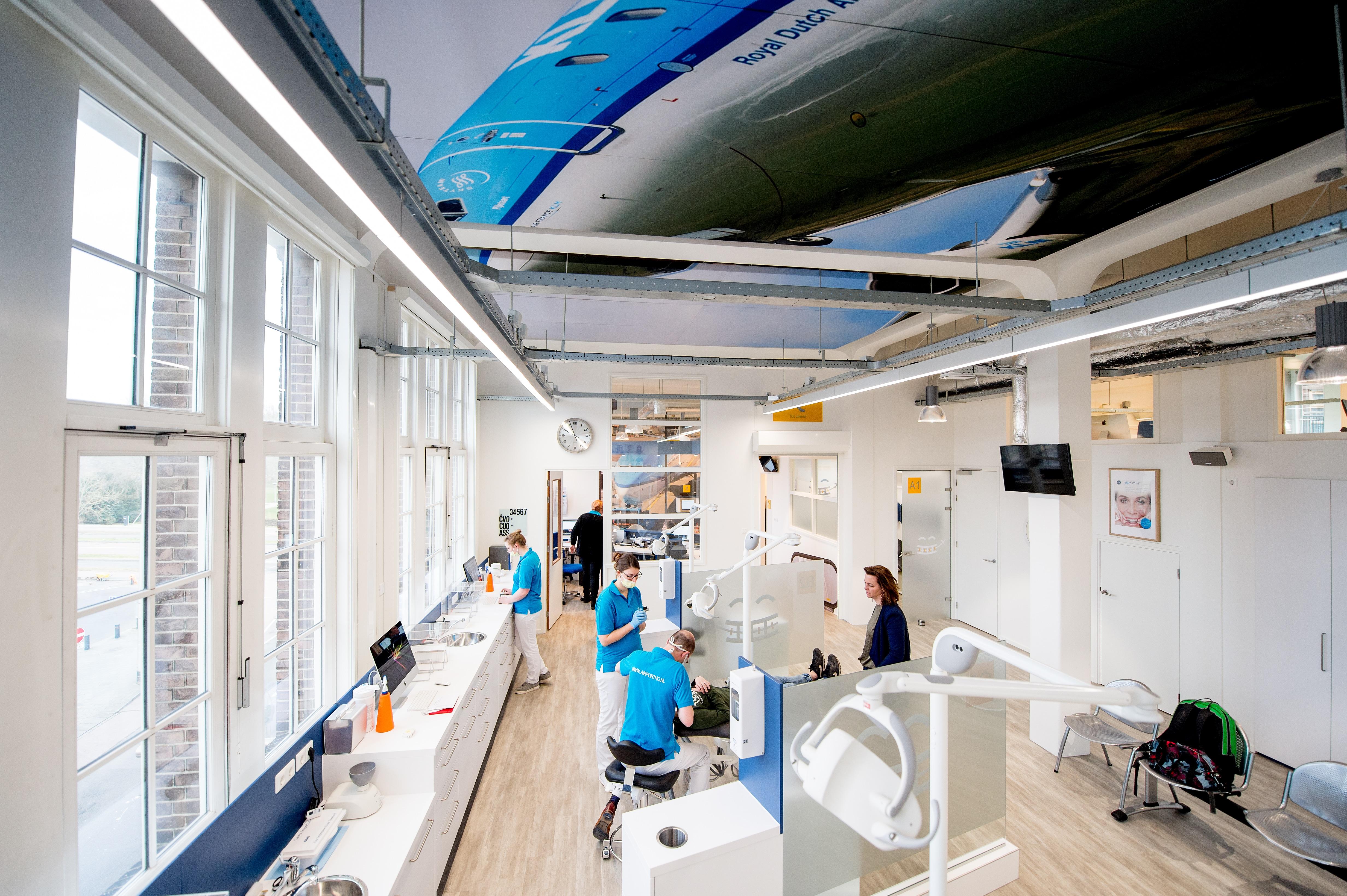 Behandelruimte van de orthodontist in Utrecht: Airportho Utrecht