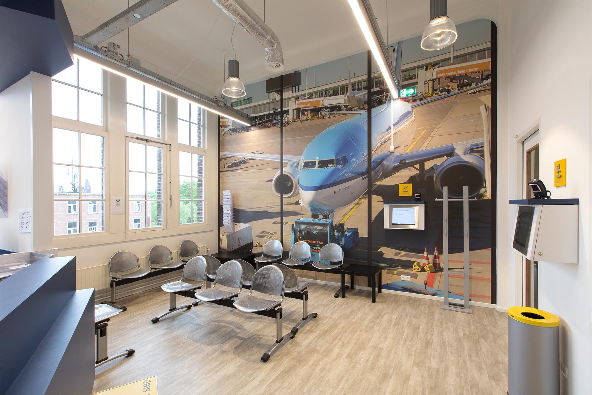 Wachtkamer van de orthodontist in Utrecht: Airportho Utrecht