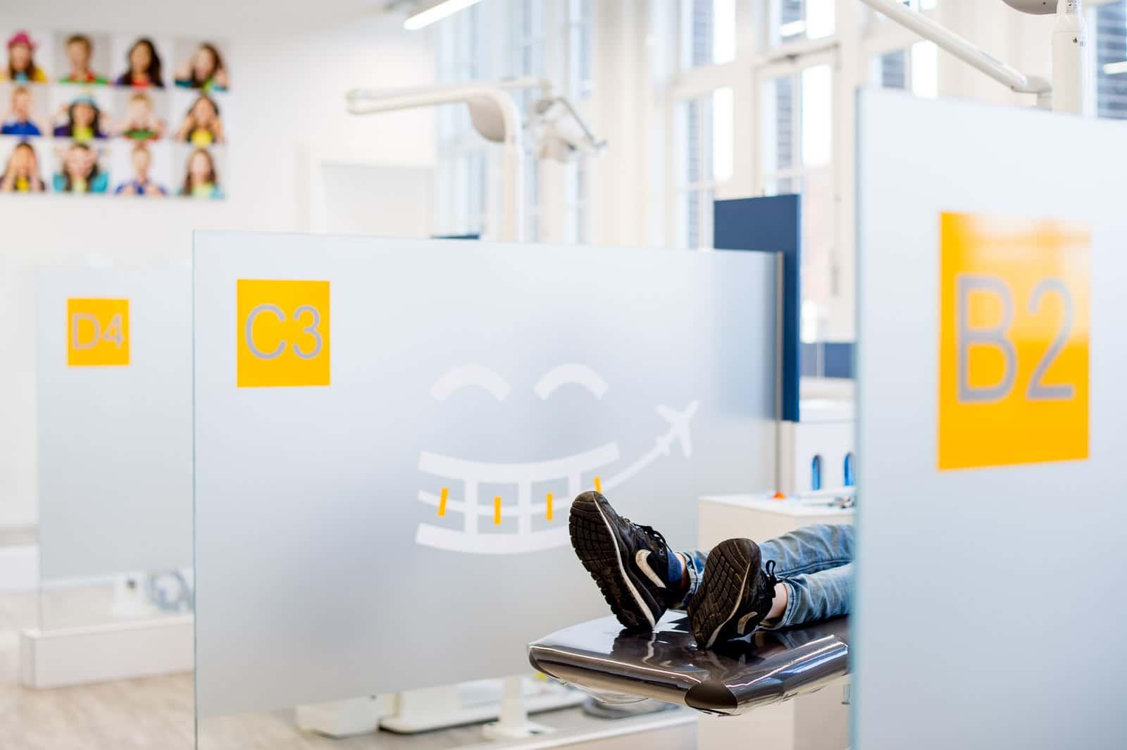 Behandelkamer van de orthodontist in Utrecht: Airportho Utrecht