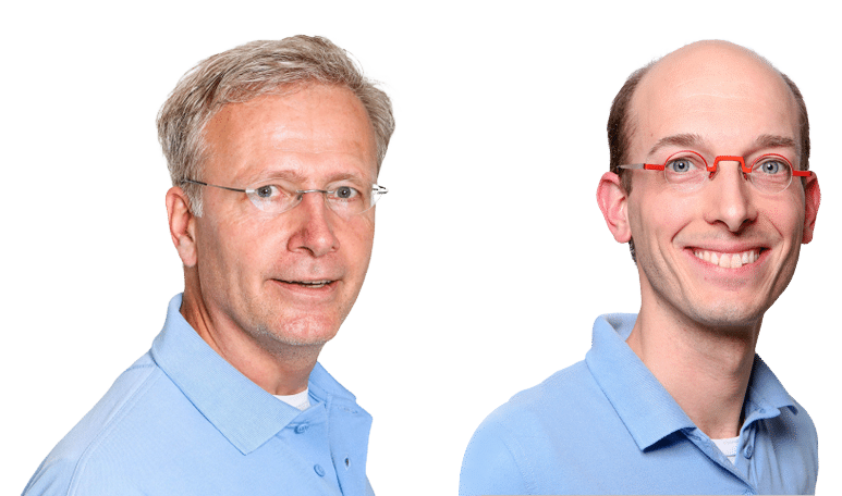 Eelco Krabbe en Nop Willems - Orthodontisten in Utrecht: Airportho Utrecht